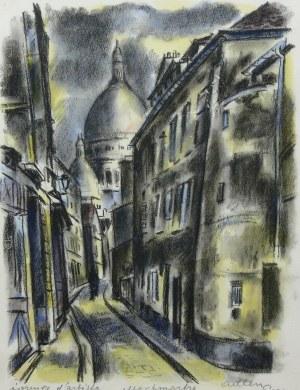 Michel Adlen (1898 Łuck – 1980 Paryż), Montmartre