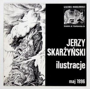 Katalog z dedykacją Jerzego Skarżyńskiego.