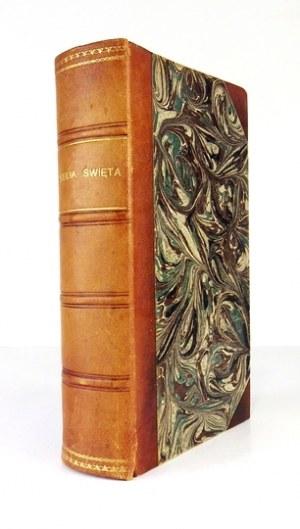 BIBLIA Święta, to jest: wszystko Pismo Święte starego i nowego przymierza. Berlin 1861.