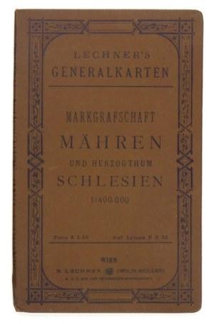 [ŚLĄSK]. General-Karte von Märchen und Schlesien. Mapa barwna form.53,5x75,2 cm. Przełom XIX/...