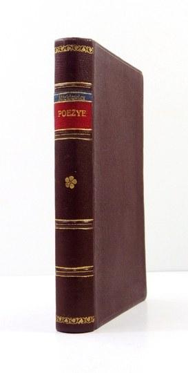 MICKIEWICZA. – Poezye Adama Mickiewicza. T. 4. Paryż 1832. Pierwodruk III części