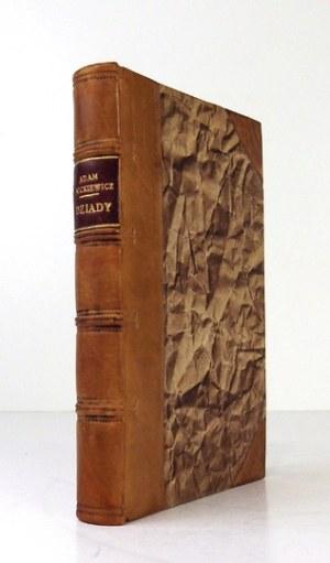 MICKIEWICZ Adam - Adama Mickiewicza Dziadów część trzecia. Wyd. II [...] ozdobione popiersiem autora. Paryż 1833....