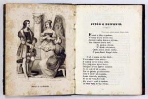 SCHILLER Fryderyk - Pienia liryczne Fryderyka Szyllera. Poprzedzone jego żywotem i ozdobione rycinami. Wydał A[ugust]...