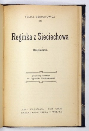 GASZYŃSKI Konstanty - Kontuszowe pogadanki i obrazki z szlacheckiego życia. Warszawa 1908. Gebethner i Wolff. 16d,...