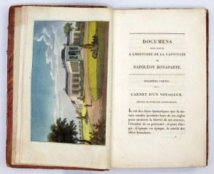 DOCUMENSpour servir à l'histoire de la captivité de Napoléon Bonaparte a Sainte-...