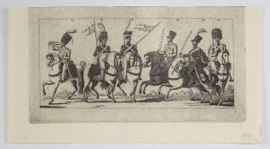 STACHOWICZ Michał - [Ubiory wojska polskiego z czasów Księstwa Warszawskiego. Kraków 1831 -...