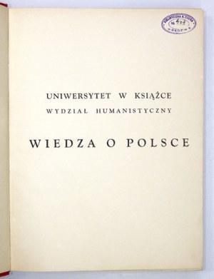 WIEDZA o Polsce. T. 1-3 [w 5 wol.]. Warszawa [193-]. Wyd.
