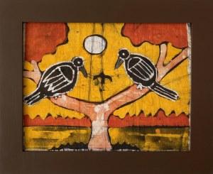 Sainey, Dwa ptaki na gałęziach