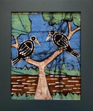 Faring Sanyag, Dwa ptaki na gałęziach