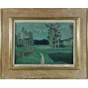 Henryk HAYDEN (1883-1970), Pejzaż ze ścieżką