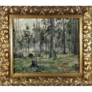 Włodzimierz ZAKRZEWSKI (1916-1992), Pejzaż leśny