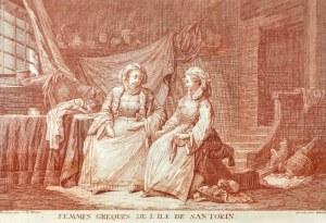 Joseph GLEICH  (czynny w 2 poł. XVIII w.), Kobiety greckie z wyspy Santorini, przed 1800 r.