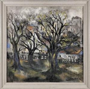 Isaac LICHTENSTEIN (1883 lub 1888-1981), Wiosna w Paryżu, 1909