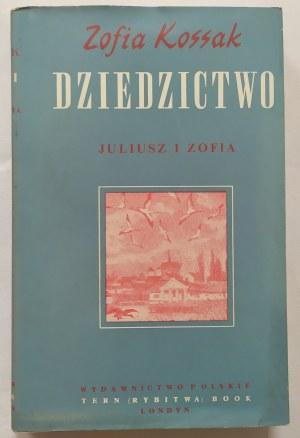 Kossak Zofia • Dziedzictwo. Juliusz i Zofia