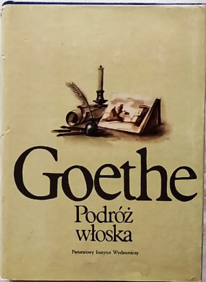 Goethe von Johann Wolfgang • Podróż włoska