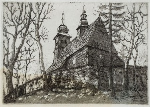 Józef PIENIĄŻEK, KOŚCIÓŁ ŚW. ANNY W NOWYM TARGU, 1927