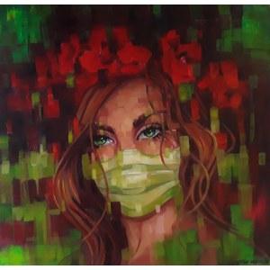 Marzena Hettich-Uryszek (ur. 1969), Girl RedGreen, 2020