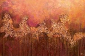 Monika Kargol (ur. 1969), Jesień w górach, 2019