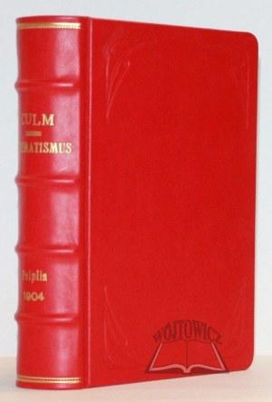 SCHEMATISMUS des Bistums Culm mit dem Bischofssitze in Pelplin 1904.