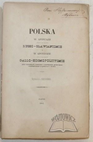(BUKATY Antoni), Polska w apostazji,