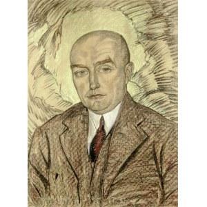 Stanisław Ignacy Witkiewicz Witkacy (1885-1939), Portret mężczyzny, 1930