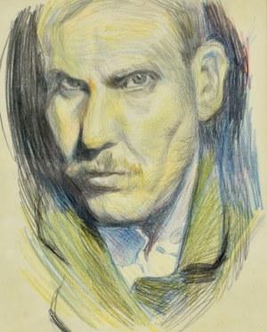 Stanisław Kamocki (1875-1944), Autoportret, ok. 1905
