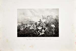 Juliusz Kossak (1824-1899), Andrzej Fredro Wojewoda Podolski po podbiciu Tatarów nad Bugiem oswobadza zabranych w niewolę