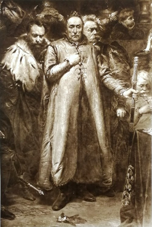 Jan Matejko (1838 - 1893), Radziwił - Zebrzydowski - Stadnicki