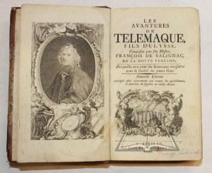FENELON François de Salignac de la Mothe, Les avantures de Télémaque, fils d'Ulysse.