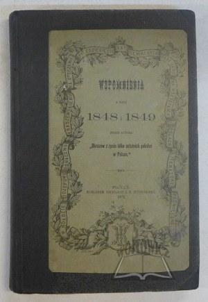 (FALKOWSKI Juliusz), Wspomnienia z roku 1848 i 1849.