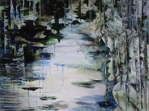 Emilia Maryniak, Melting forest 3/5, 2016