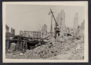 Warszawa 1944-45 Ul. Miodowa Przy Ul. Długiej Eugeniusz Haneman Fotografia [Vintage Print]