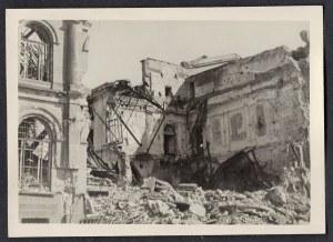 Warszawa 1944-45 Budynek Banku Polskiego Eugeniusz Haneman Fotografia [Vintage Print]