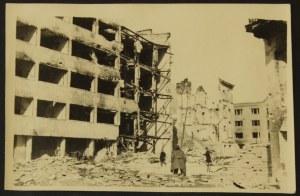 Warszawa 1944-45 Ul. Tamka Przy Ul. Solec I Ul. Dobrej Eugeniusz Haneman Fotografia [Vintage Print]