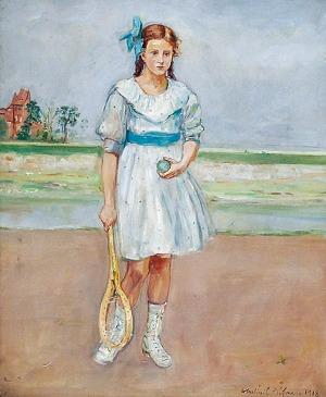 Wlastimil HOFMAN (1881-1970), Tenisistka, 1918
