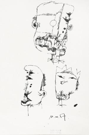 Zdzisław BEKSIŃSKI (1929-2005), Bez tytułu, 1957