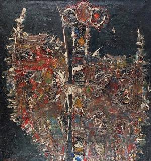 Jerzy ADAMSKI, Kompozycja abstrakcyjna