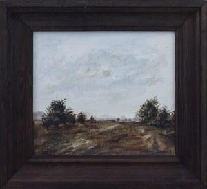 Barbara ŚWIDZIŃSKA (ur. 1931), Pejzaż leśny, 1981