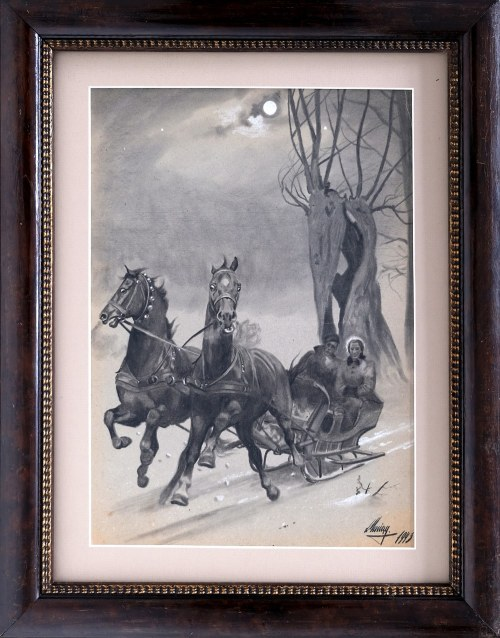 Ludwik Maciąg, Sanna, 1943