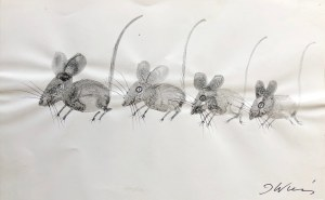 Józef Wilkoń,Cztery myszki