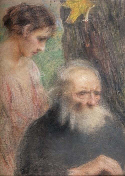 Teodor Axentowicz (1859 Braszów/Rumunia - 1938 Kraków), Starość i młodość