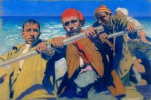 Feliks Michał Wygrzywalski (1875 Przemyśl - 1944 Rzeszów), Morskie wilki, 1925 r.
