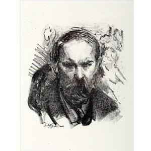 Leon Wyczółkowski (1852 Huta Miastkowska k. Garwolina - 1936 Warszawa), Portret Konstantego Laszczki, 1922 r.