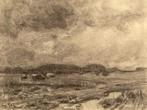 Roman Kochanowski (1857 Kraków - 1945 Freising w Bawarii), Pejzaż
