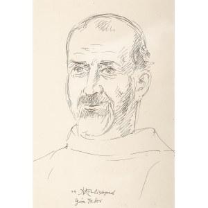 Wlastimil Hofman (1881 Praga - 1970 Szklarska Poręba), Brat Franciszkanin Kanadyjczyk, 1942 r.