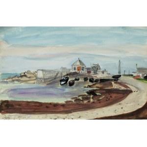 Henryk Hayden (1883 Warszawa - 1970 Paryż), Zatoka, 1957 r.