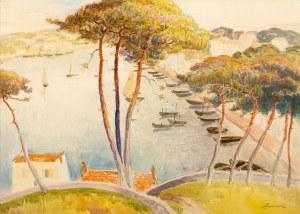 Jan Rubczak (1884 Stanisławów - 1942 Auschwitz), Port w Audierne