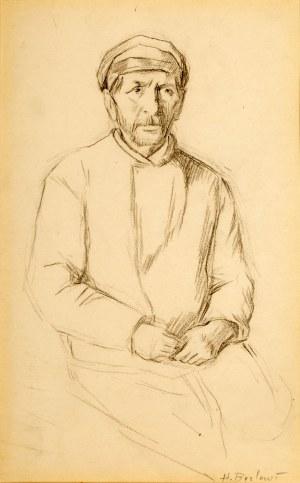 Henryk Berlewi (1894 Warszawa - 1967 Paryż), Siedzący Żyd