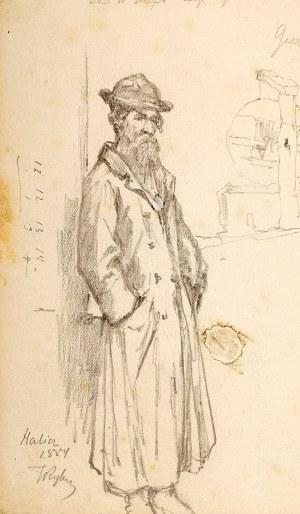 Tadeusz Rybkowski (1848 Kielce – 1926 Lwów), Żyd, 1884 r.