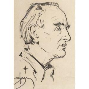Antoni Suchanek (1901 Rzeszów - 1982 Gdynia), Portret Mariana Mokwy